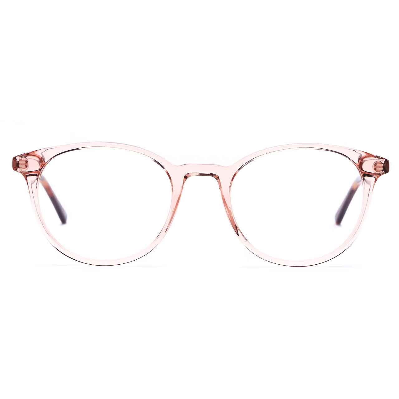 CHARLES STONE Crystal Pink & Tortoise Round